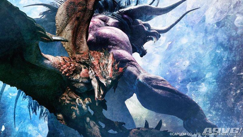 《怪物猎人世界》与《最终幻想14》联动推出贝希摩斯任务
