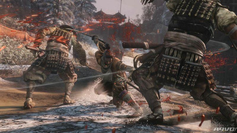 《只狼 影逝二度》演示视频汇总 仙峰寺和巨蛇Boss战