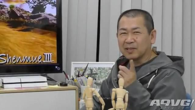 铃木裕宣布《莎木3》已开发有6个月之久