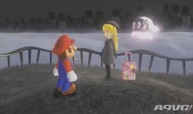 《超级马里奥:奥德赛》碧琪公主位置 桃花公主相关月亮方位攻略