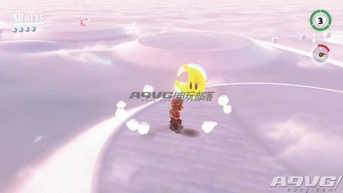《超级马里奥奥德赛》云之国月亮全收集攻略