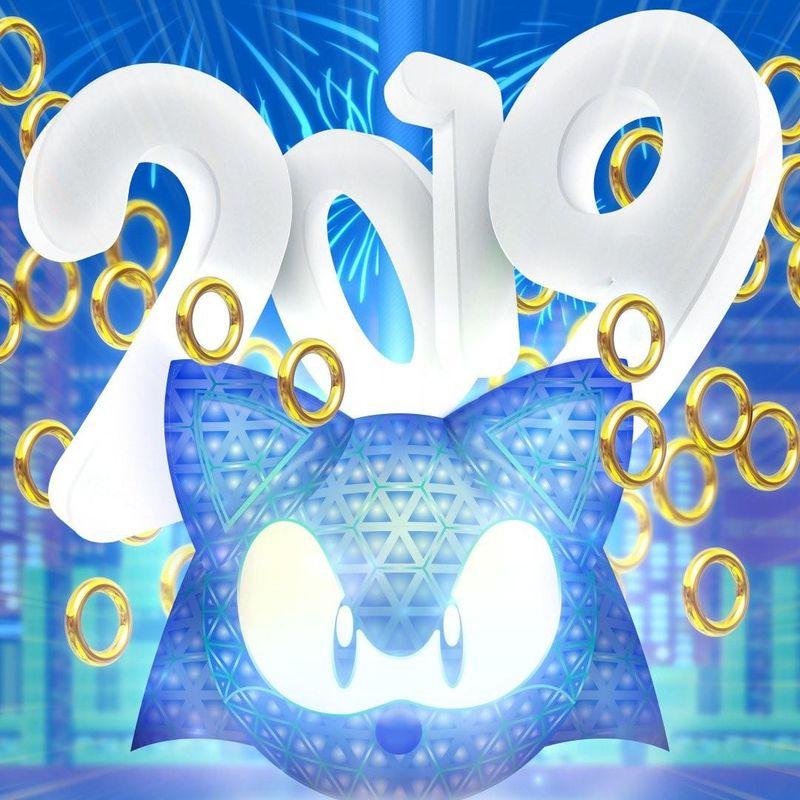 2019元旦快乐!来自游戏厂商和制作人们的一大波新年贺图
