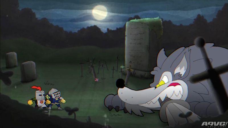 宫崎老贼看过来!玩家自制《茶杯头》风《黑暗之魂》动画