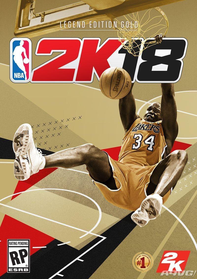 大鲨鱼奥尼尔担任《NBA 2K18》传奇版封面人物 9月19日发售