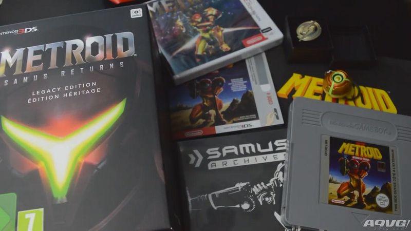 3DS《银河战士 萨姆斯归来》欧版遗产版开箱视频