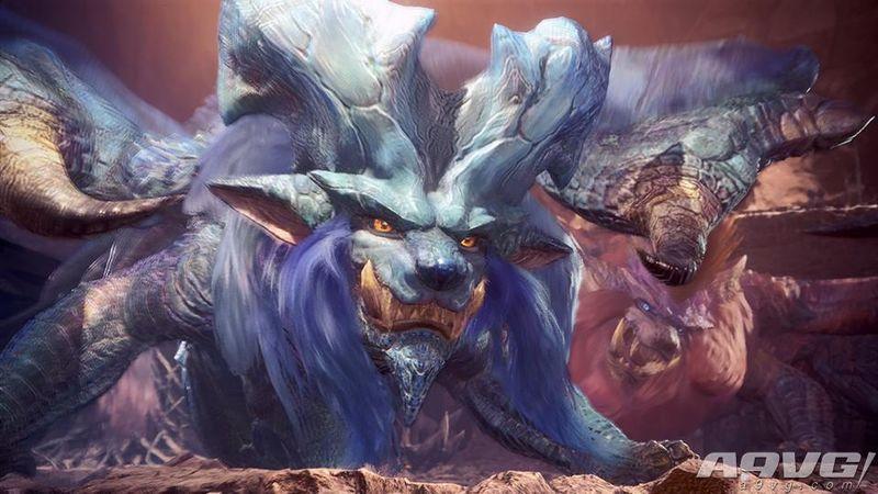 《怪物猎人世界》第三弹更新5月31日发布 炎妃龙即将登场