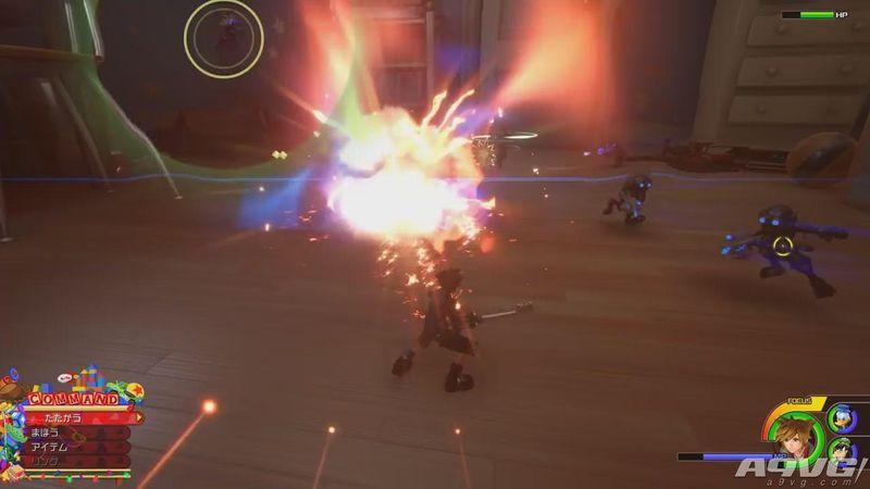 《王国之心3》早期购入特典介绍 PS4和Xbox版有不同键刃