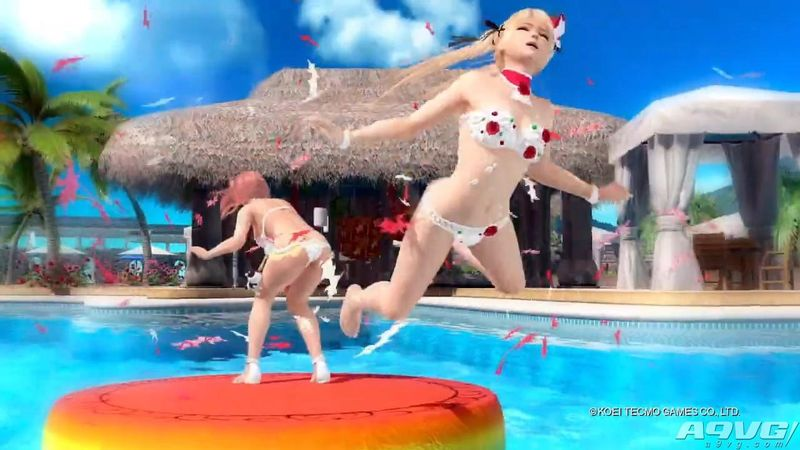 《死或生沙滩排球3 绯红》第二支宣传片 含爆衣效果演示