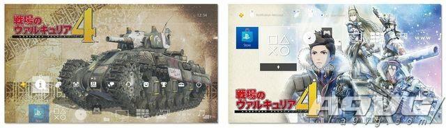 《战场女武神4》将推出PS4限定主机 附送刻印图案主机盖