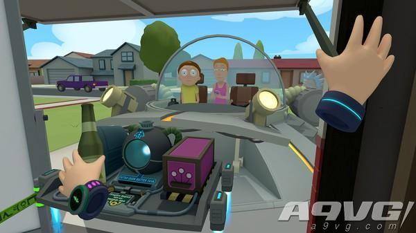 《瑞克与莫蒂:虚拟瑞克》将于4月10日登陆PSVR平台