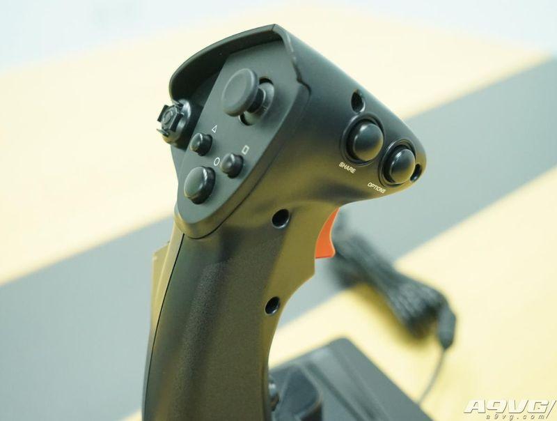 HORI《皇牌空战7》最新飞行摇杆抢先开箱 设计出色布局合理