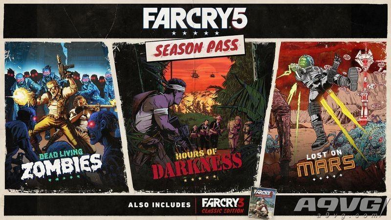 《孤岛惊魂5》DLC季票内容包含僵尸模式、回到越南以及迷失火星