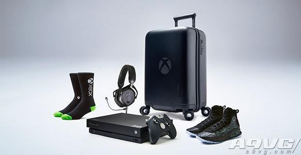 微软送出NBA球员库里专属Xbox One X套装