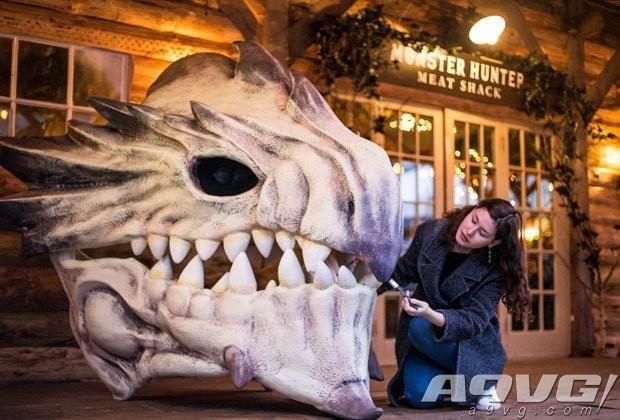 Capcom在英国设立《怪物猎人世界》主题烤肉小屋活动