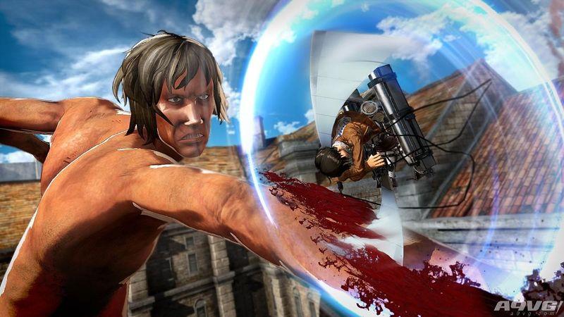 《进击的巨人2》中文版游戏画面 三版本在台发售