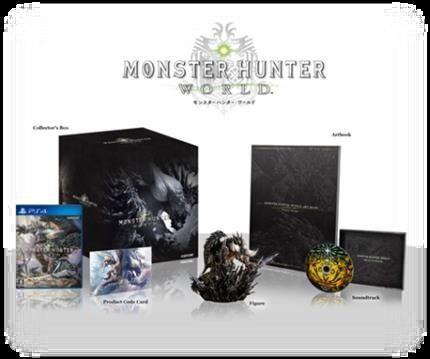 《怪物猎人世界》收藏版插图及原声CD收录曲目公开