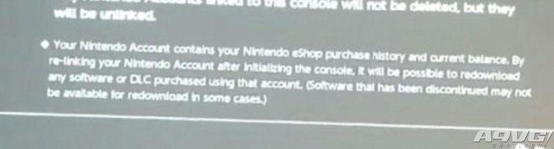 任天堂Switch系统细节曝光 购买游戏将于帐号绑定