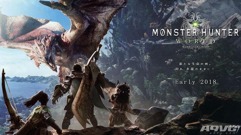 《怪物猎人世界》中文确定!将以免费更新形式加入中文