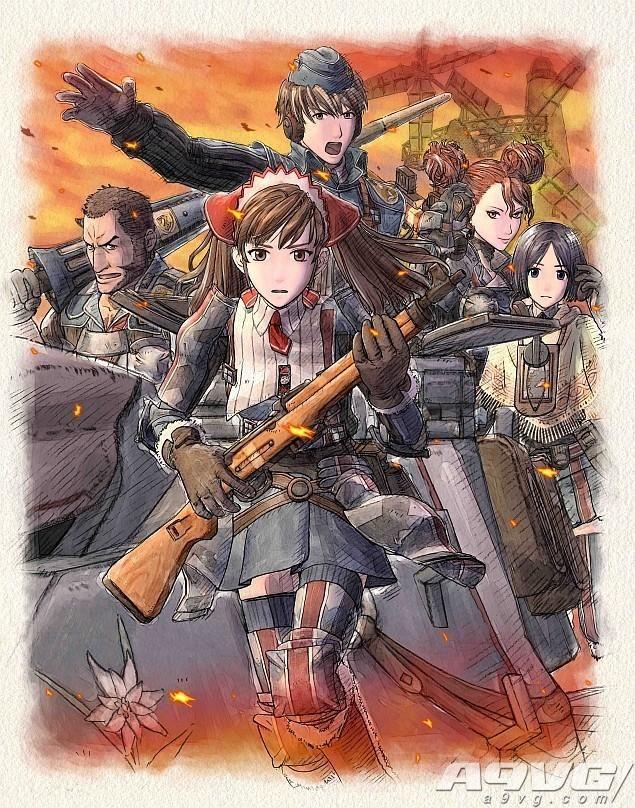 《战场女武神4》PS4限定版10th周年纪念包和首批特典详情