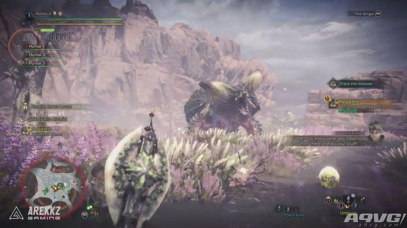 《怪物猎人世界》beta测试灭尽龙狩猎视频 攻击魄力十足