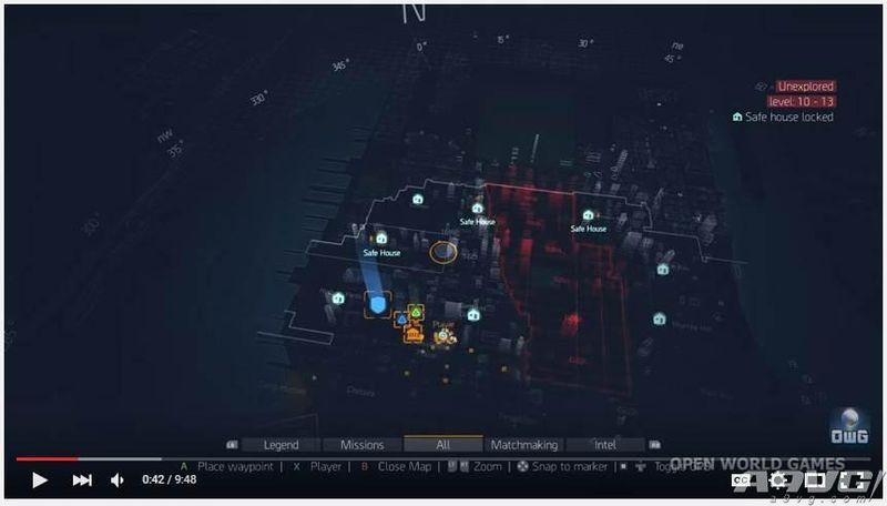 全境封锁PC版游戏画面公布 地图或已泄露