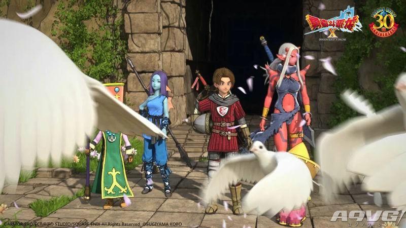 《勇者斗恶龙X》今日开放性测试 让RPG回归初心