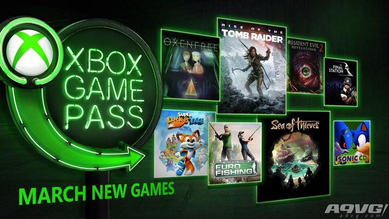 Xbox Game Pass 3月游戏阵容公布:生化启示录2等加入