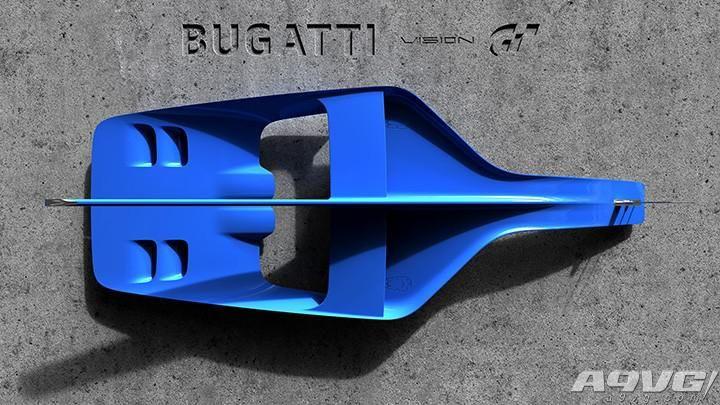 并没有GT7的消息 布加迪VisionGT概念车公布首张图片