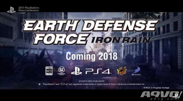 《地球防卫军5》公布发售日 系列新作《铁雨》发表