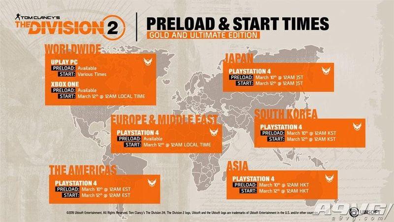 关于《全境封锁2》发售你必须知道几件事 解锁时间与补丁