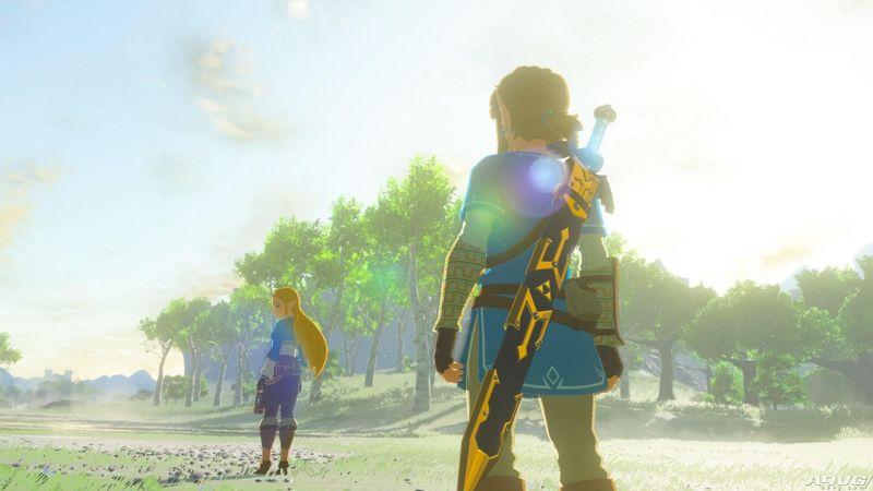 《塞尔达传说 荒野之息》开发完毕 发售日3月3日