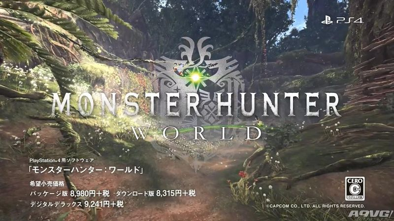 《怪物猎人 世界》图鉴系列短视频之古代树之森篇