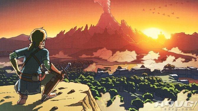 《塞尔达传说:荒野之息》新设定图与截图公开