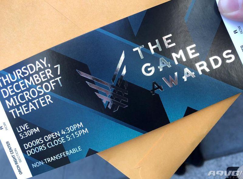 TGA颁奖典礼12月8日上午9点半举行 A9VG邀您观看现场直播