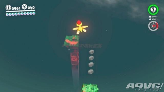 《超级马里奥奥德赛》森之国月亮全收集攻略