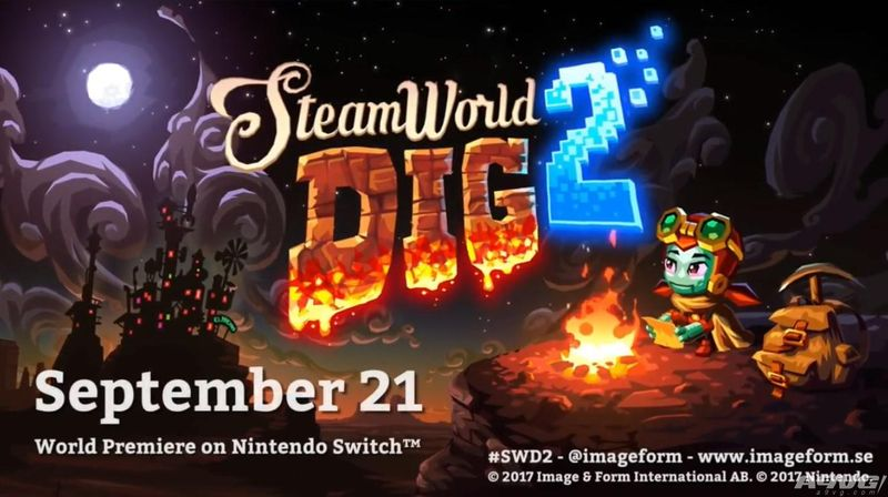 《蒸汽世界:挖掘2》将于9月21日在Switch平台首发