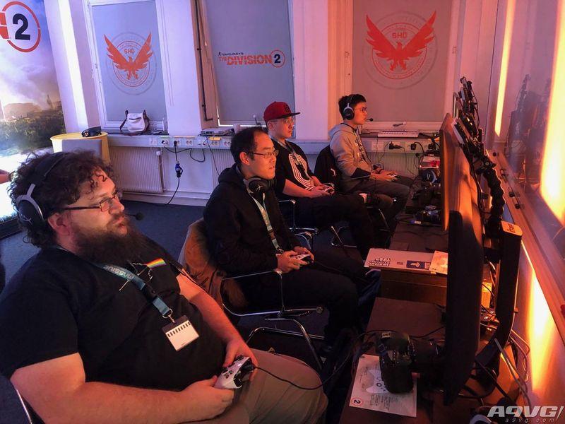 探访瑞典育碧Massive工作室 体验《全境封锁2》全新暗区