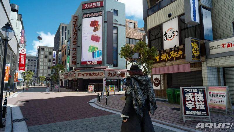 《最终幻想15》公开亚丹篇场景截图 充满现代感的城市