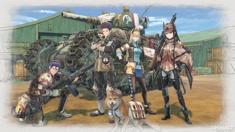 《战场女武神4》Switch中文版决定于2018年9月27日发售