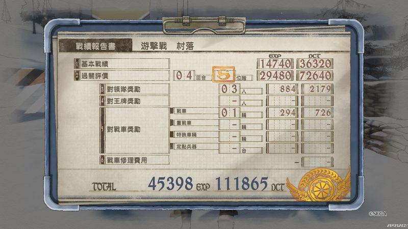 《战场女武神4》体验版EX任务S评价中文视频攻略