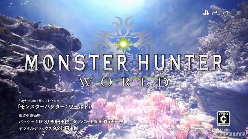 《怪物猎人世界》TVCM 狩猎吧和这个充满生机的大地一起