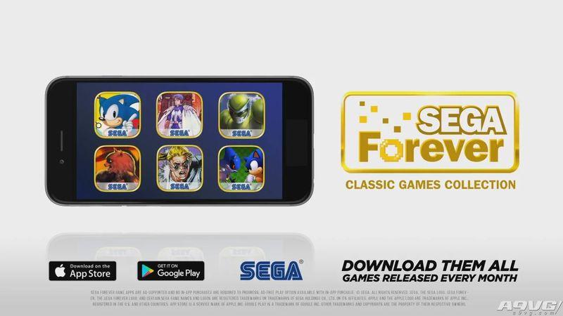 """""""世嘉永恒""""正式公开 免费在手机上玩经典游戏"""