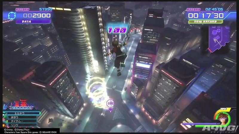 《王国之心3》跑酷小游戏视频攻略 超能陆战队世界酷跑心得