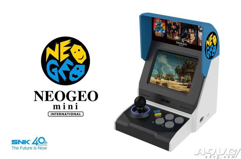SNK官方正式公开NEOGEO mini 外形包含两种款式