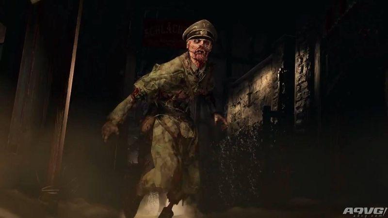 《使命召唤:二战》僵尸模式普通结局流程攻略