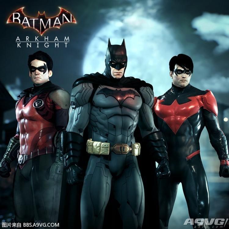 PS4/XB1《蝙蝠侠:阿卡姆骑士》季票DLC汇总