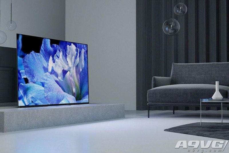 索尼发布A8F系列4K OLED电视 支持杜比视界和HDR10