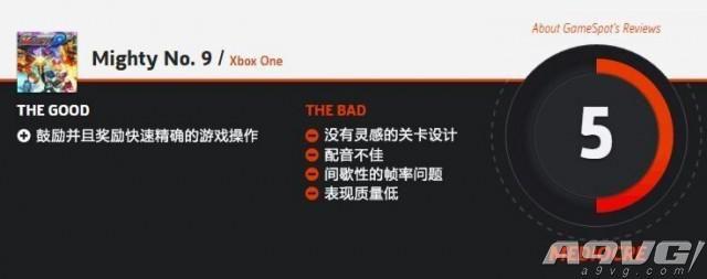 洛克人精神续作《神力九号》遭IGN与GS恶评