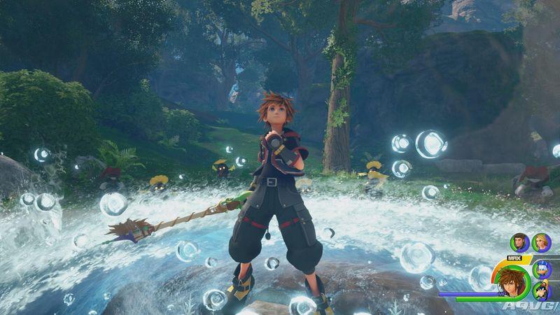 《王国之心3》公开一组最新角色设定图与高清游戏画面