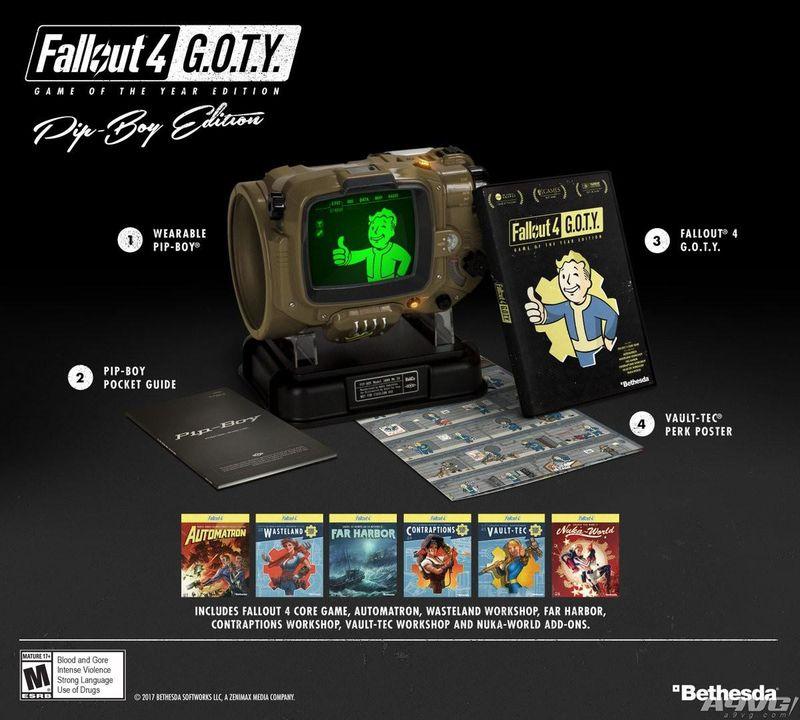 《辐射4 年度版》9月26日发售 包含全部DLC